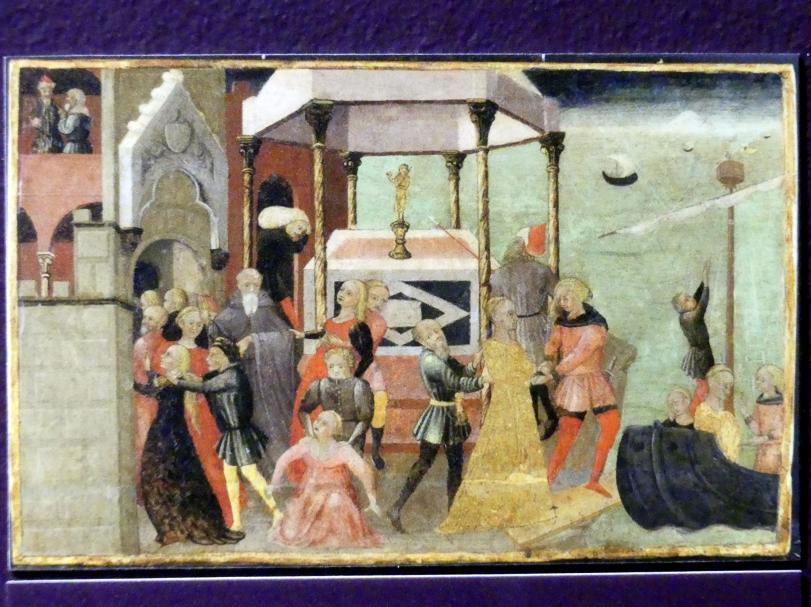 Raub der Helena, um 1430