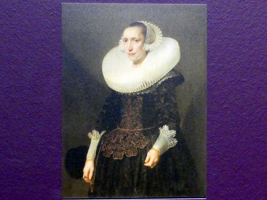 Michiel van Mierevelt (Umkreis): Bildnis einer Dame, 1632