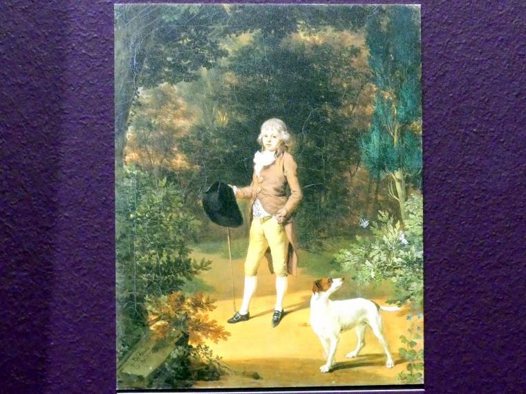 Georg Karl Urlaub: Bildnis des Friedrich Adolph Carl von Holzhausen (1776-1811), 1789