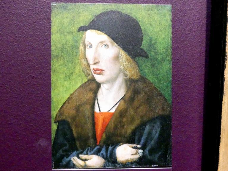 Wolf Traut: Bildnis des Hans Geyer, 1501