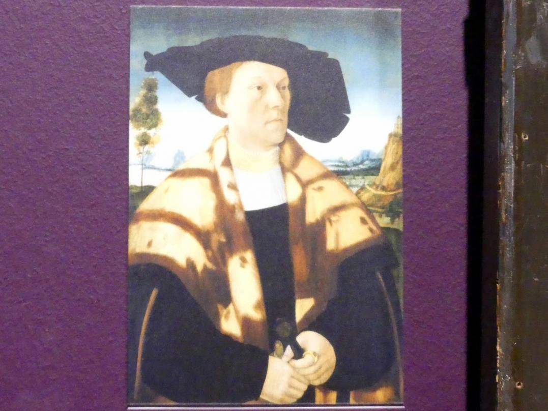 Conrad Faber von Kreuznach: Bildnis des Johann Stralenberger (1503-1571), 1526