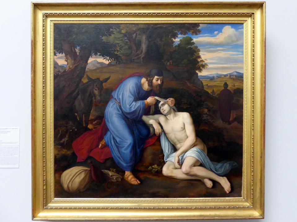 Julius Schnorr von Carolsfeld: Der barmherzige Samariter, 1833