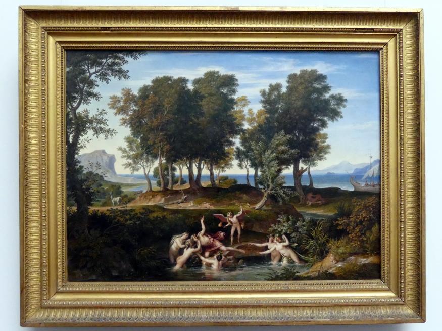 Joseph Anton Koch: Landschaft mit dem Raub des Hylas, 1832