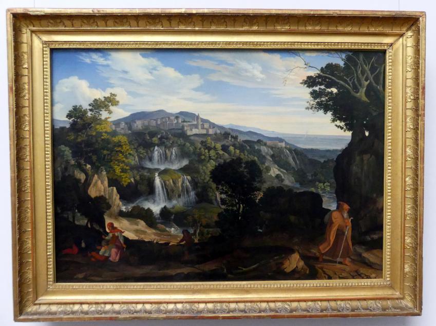 Carl Philipp Fohr: Die Wasserfälle von Tivoli, 1817