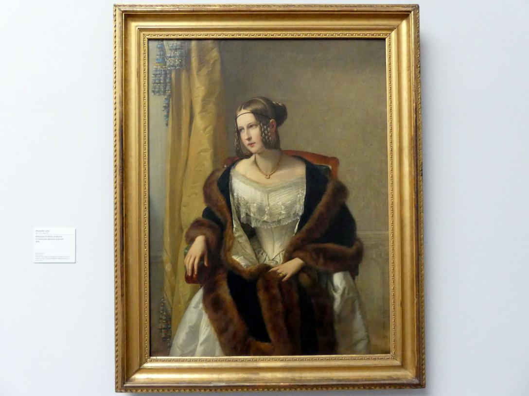 Philipp Veit: Bildnis der Freifrau von Bernus, 1838