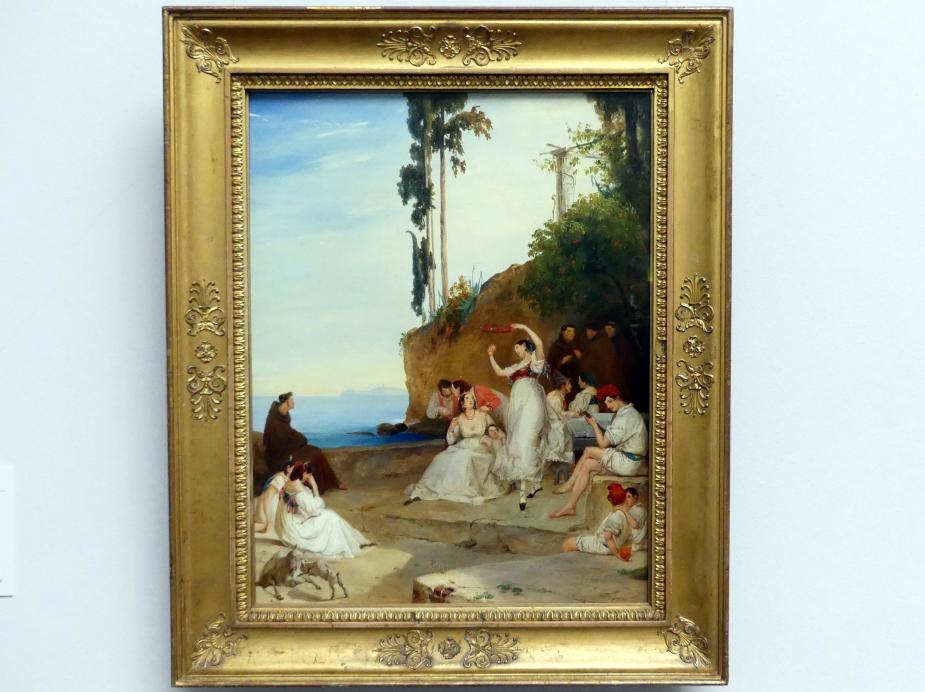 Carl Blechen: Tarantella, um 1835