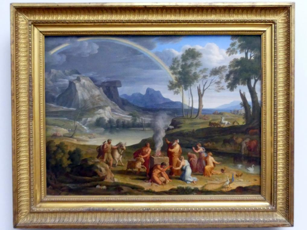 Joseph Anton Koch: Landschaft mit dem Dankopfer Noahs, 1803