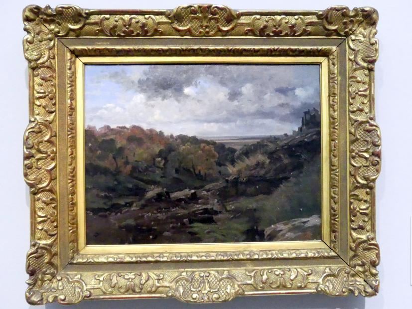 Jean-Baptiste Camille Corot: Italienische Herbstlandschaft bei Marino, 1826