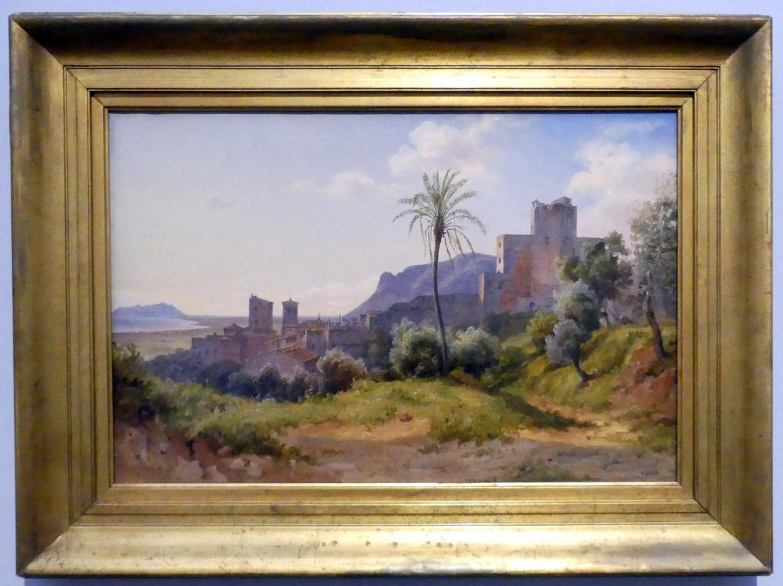 Carl Morgenstern: Terracina, 1836