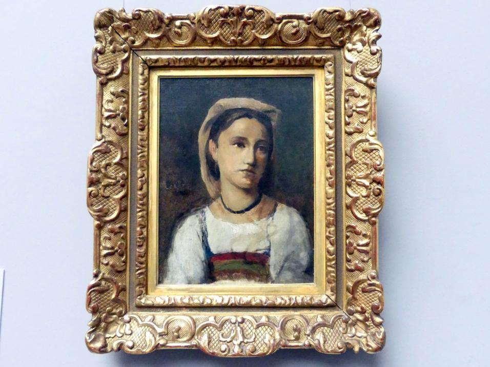 Jean-Baptiste Camille Corot: Bildnis eines italienischen Mädchens, 1870