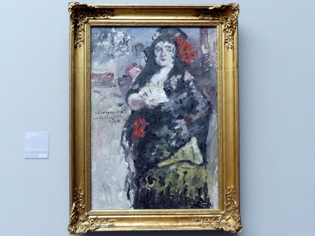 Lovis Corinth: Carmencita, 1924