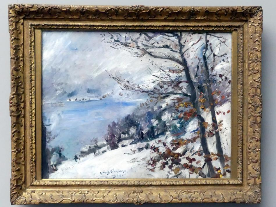 Lovis Corinth: Walchensee im Winter, 1923