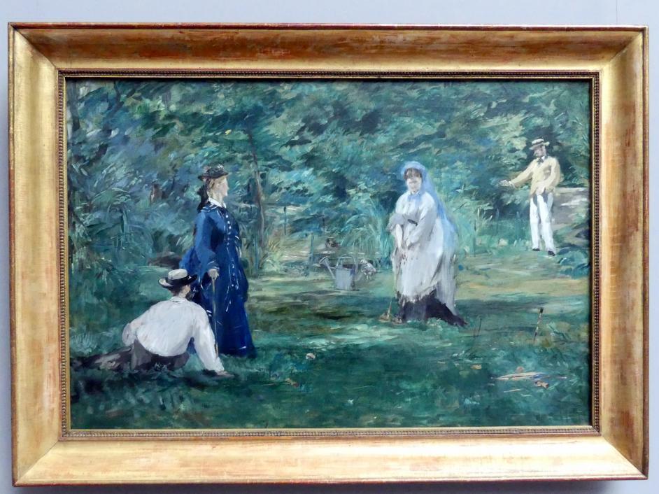 Édouard Manet: Die Krocketpartie, 1873