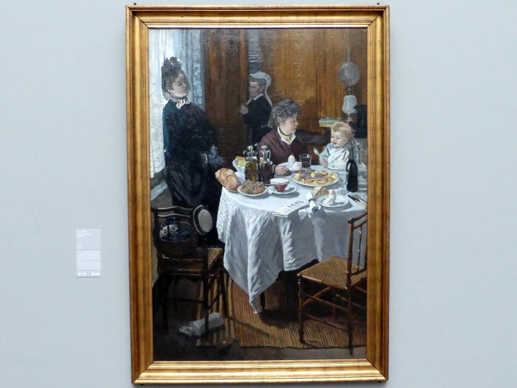 Claude Monet: Das Mittagessen (Le déjeuner), 1868