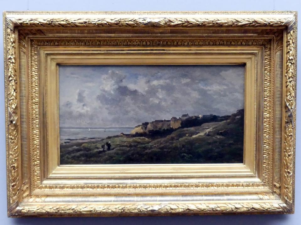 Charles-François Daubigny: Normannische Küstenlandschaft (Villerville-sur-Mer), 1868