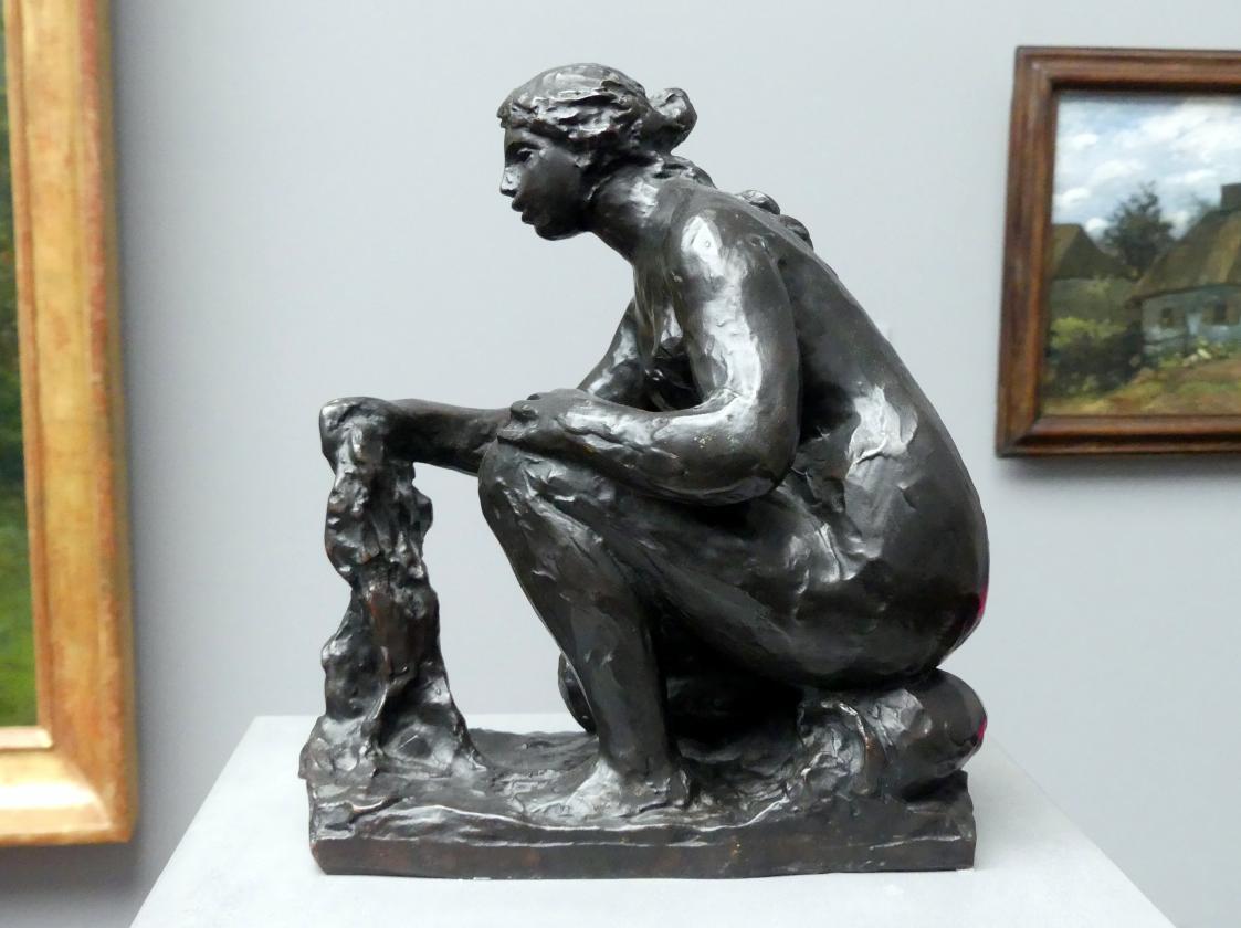 Auguste Renoir (Pierre-Auguste Renoir): Kleine Wäscherin, um 1916