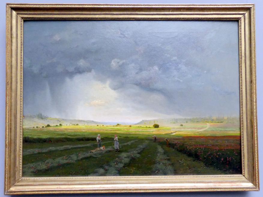 Antoine Chintreuil: Der Regenschauer, um 1868