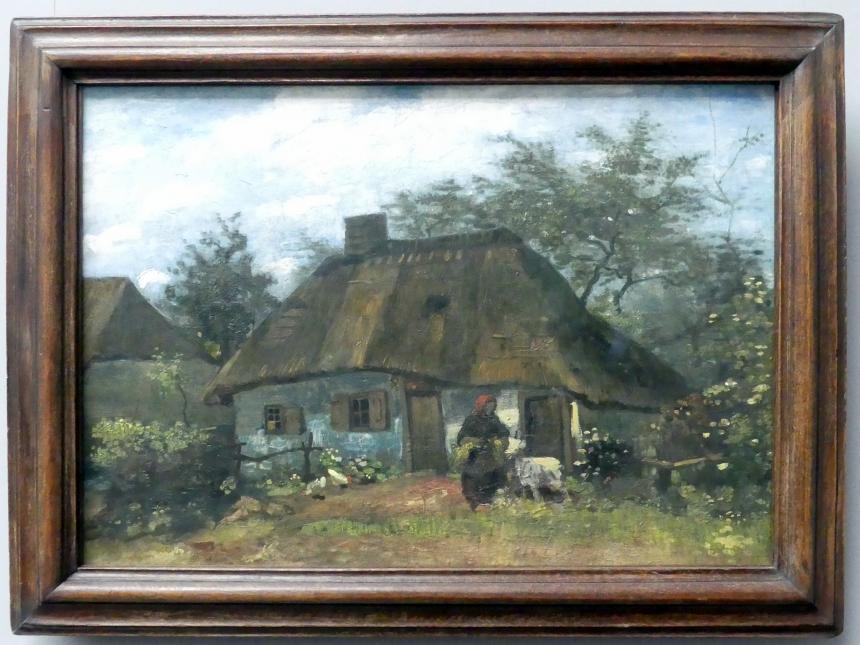 Vincent van Gogh: Bauernhaus in Nuenen, 1885