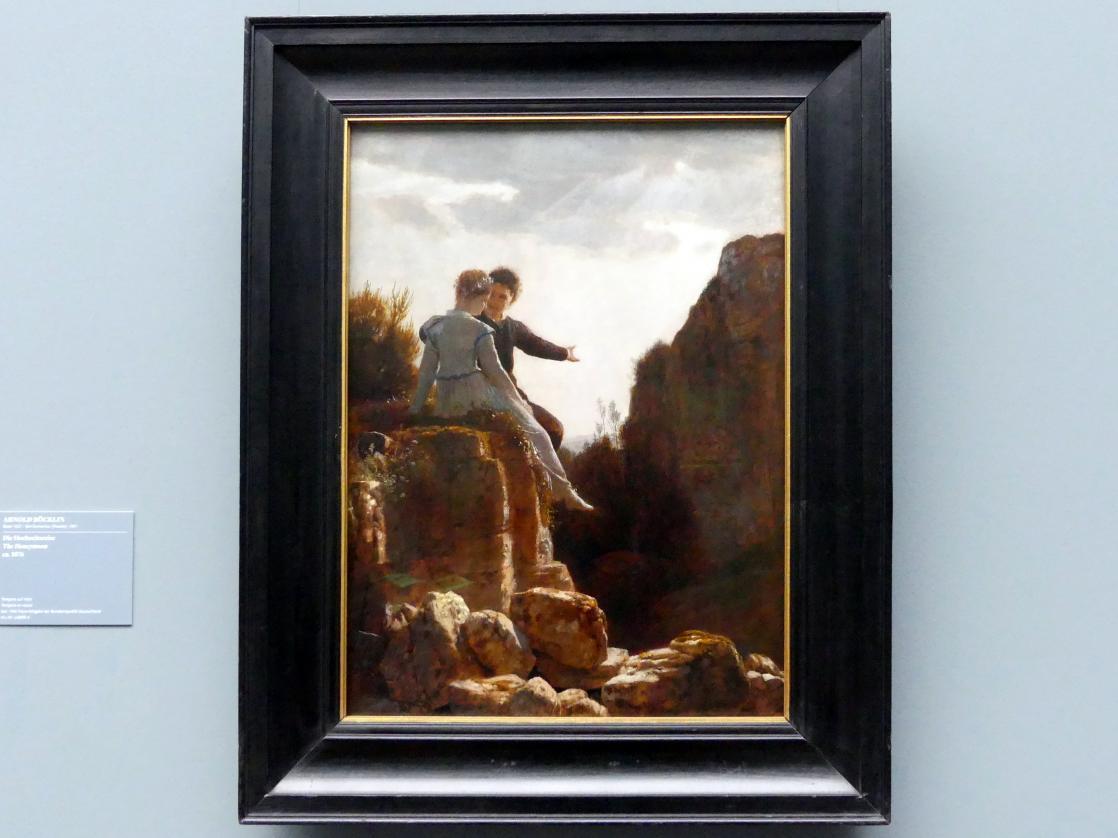 Arnold Böcklin: Die Hochzeitsreise, um 1876