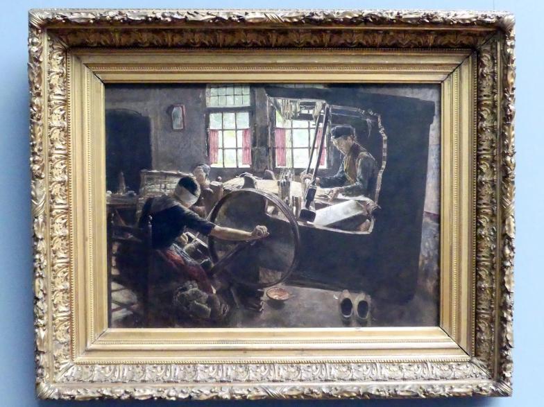 Max Liebermann: Der Weber, 1882