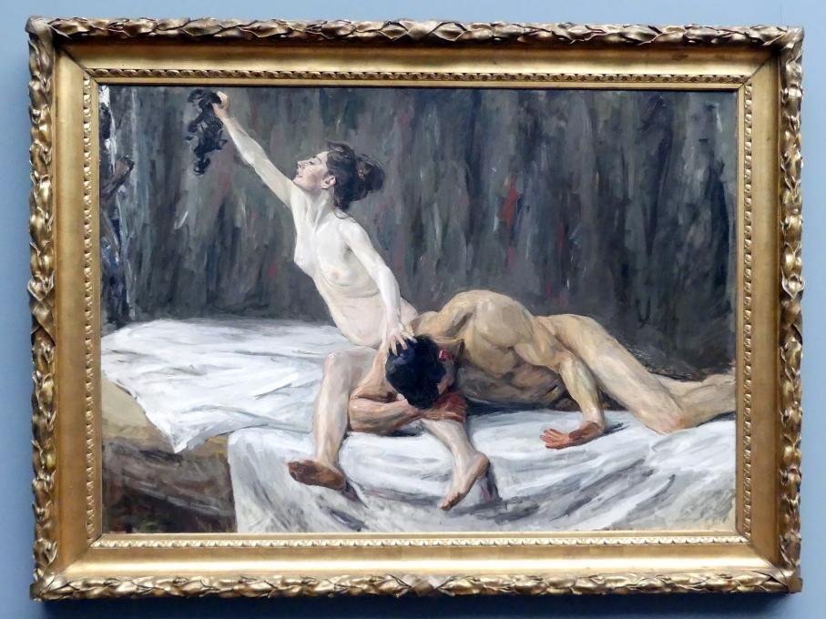Max Liebermann: Simson und Delila, 1902