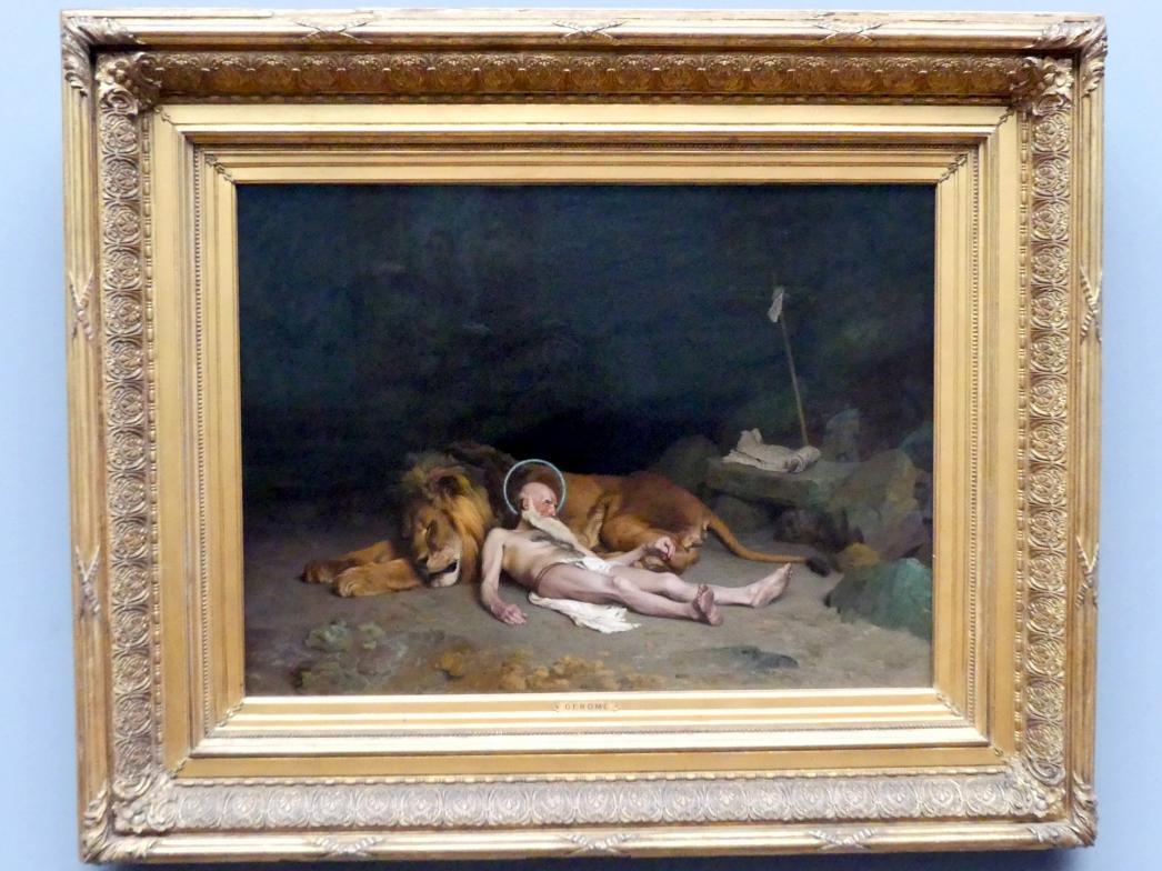 Jean-Léon Gérôme: Der heilige Hieronymus, 1874