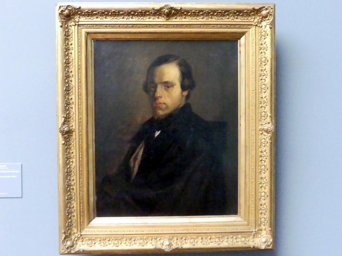 Jean-François Millet: Bildnis des Herrn le Courtois, des Schwagers des Künstlers, Um 1841 - 1848