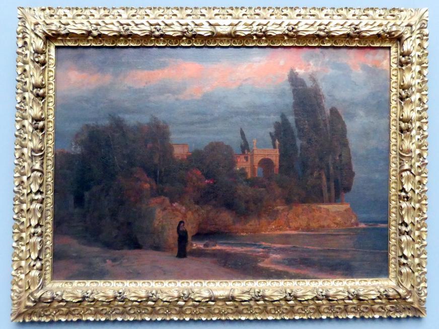 Arnold Böcklin: Villa am Meer, 1871 - 1874