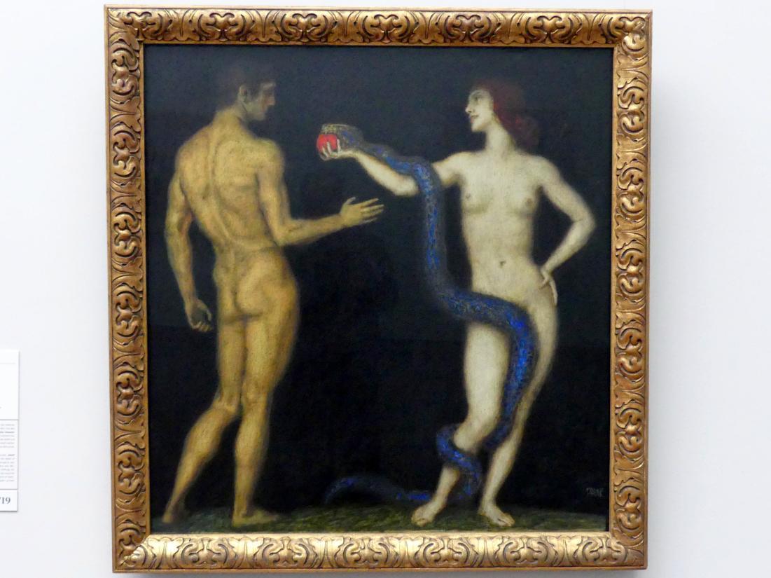 Franz von Stuck: Adam und Eva, Um 1920 - 1926