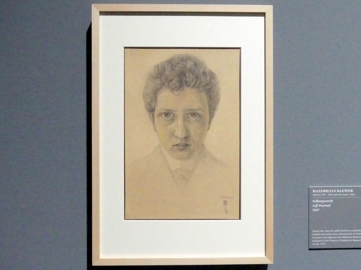 Maximilian Klewer: Selbstportrait, 1907