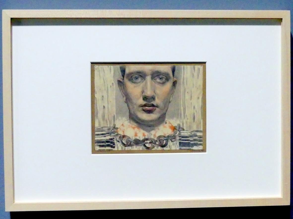 Maximilian Klewer: Selbstportrait, 1916