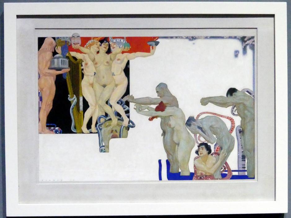 Maximilian Klewer: Sehnsucht, 1919