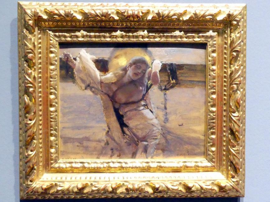 Albert von Keller: Die Märtyrerin, um 1892