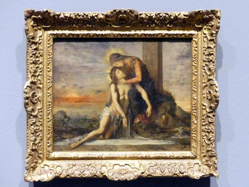 Gustave Moreau: Pietà, 1867
