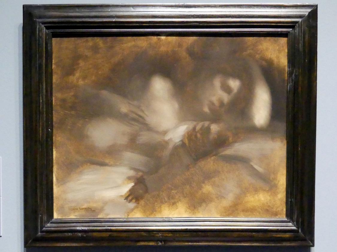 Eugène Carrière: Der Schlaf, 1890