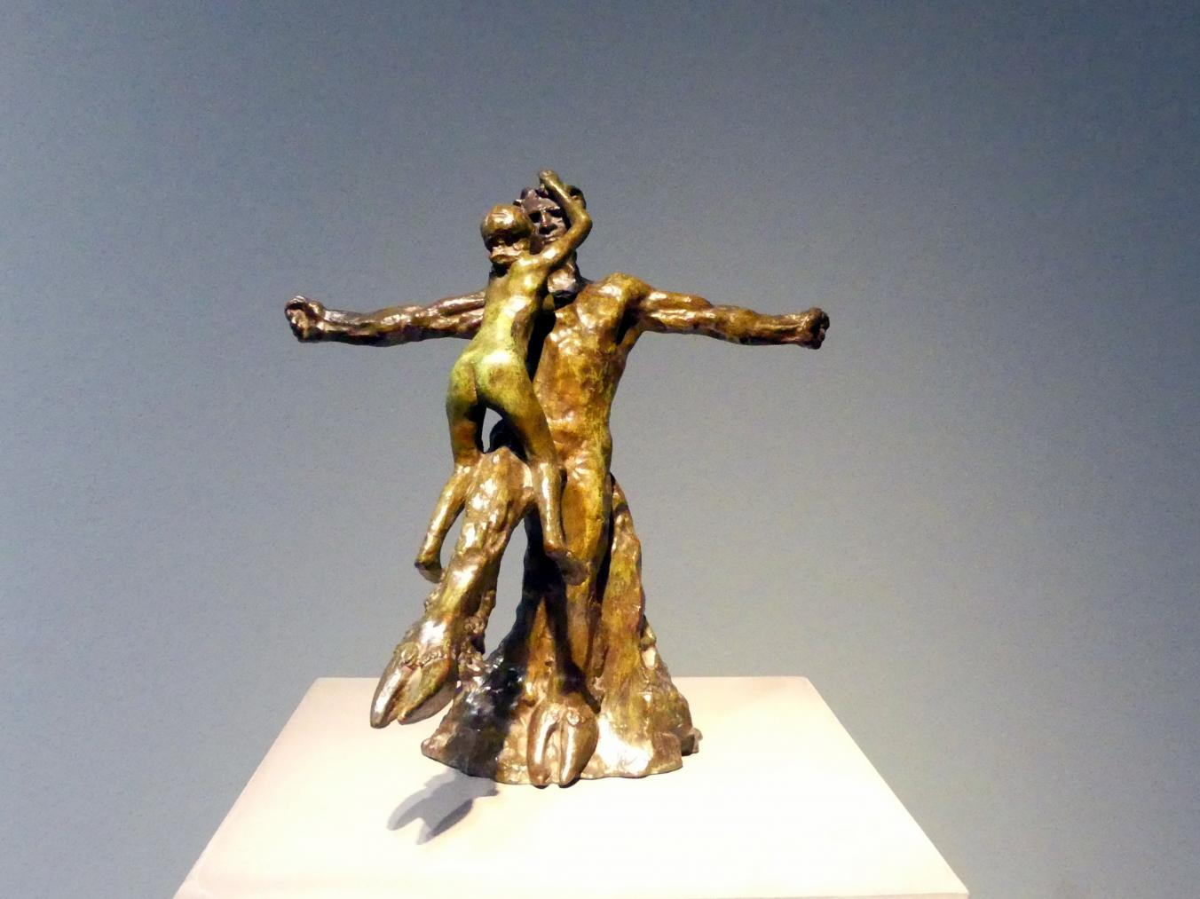 Auguste Rodin: Faun; Der alte Baum; Die Alte Eiche, Um 1885