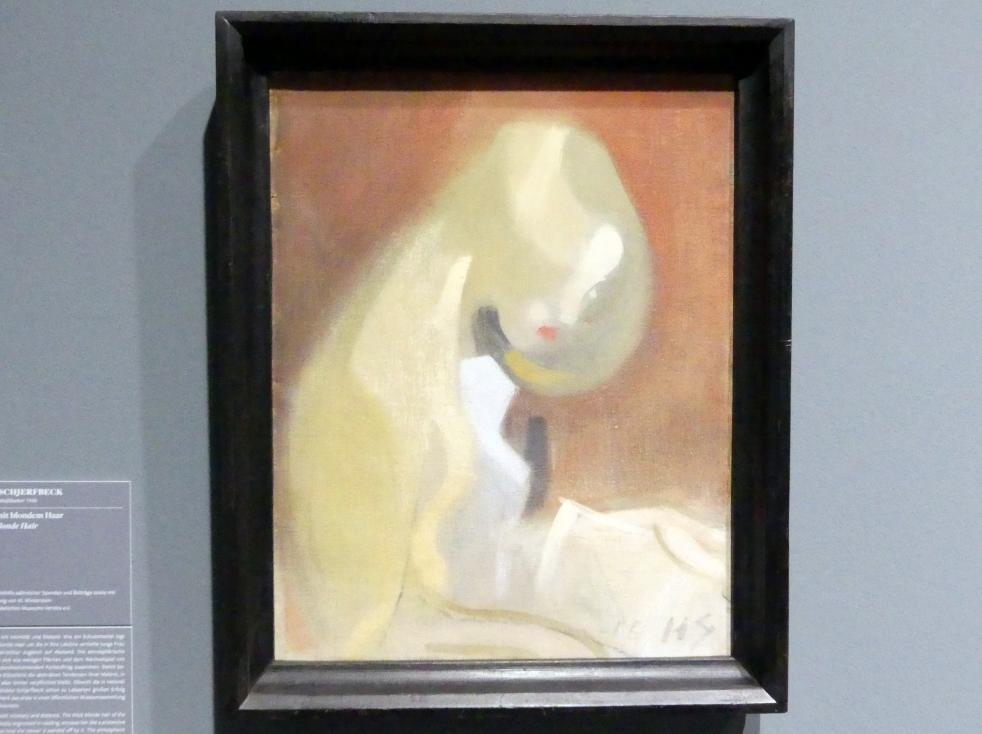 Helene Schjerfbeck: Mädchen mit blondem Haar, 1916
