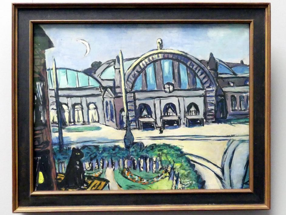 Max Beckmann: Frankfurter Hauptbahnhof, 1942