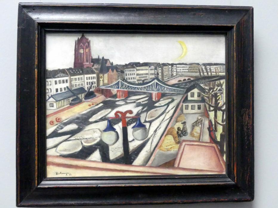 Max Beckmann: Eisgang, 1923