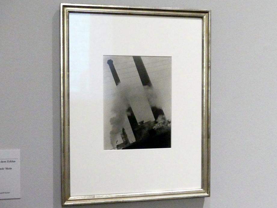 """Jaromír Funke: Ohne Titel (Schornsteine), aus dem Zyklus """"Mein Kolín"""", 1930"""