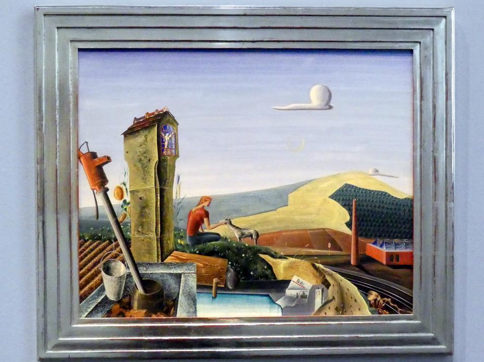 Volker Böhringer: Ländliche Idylle, 1935