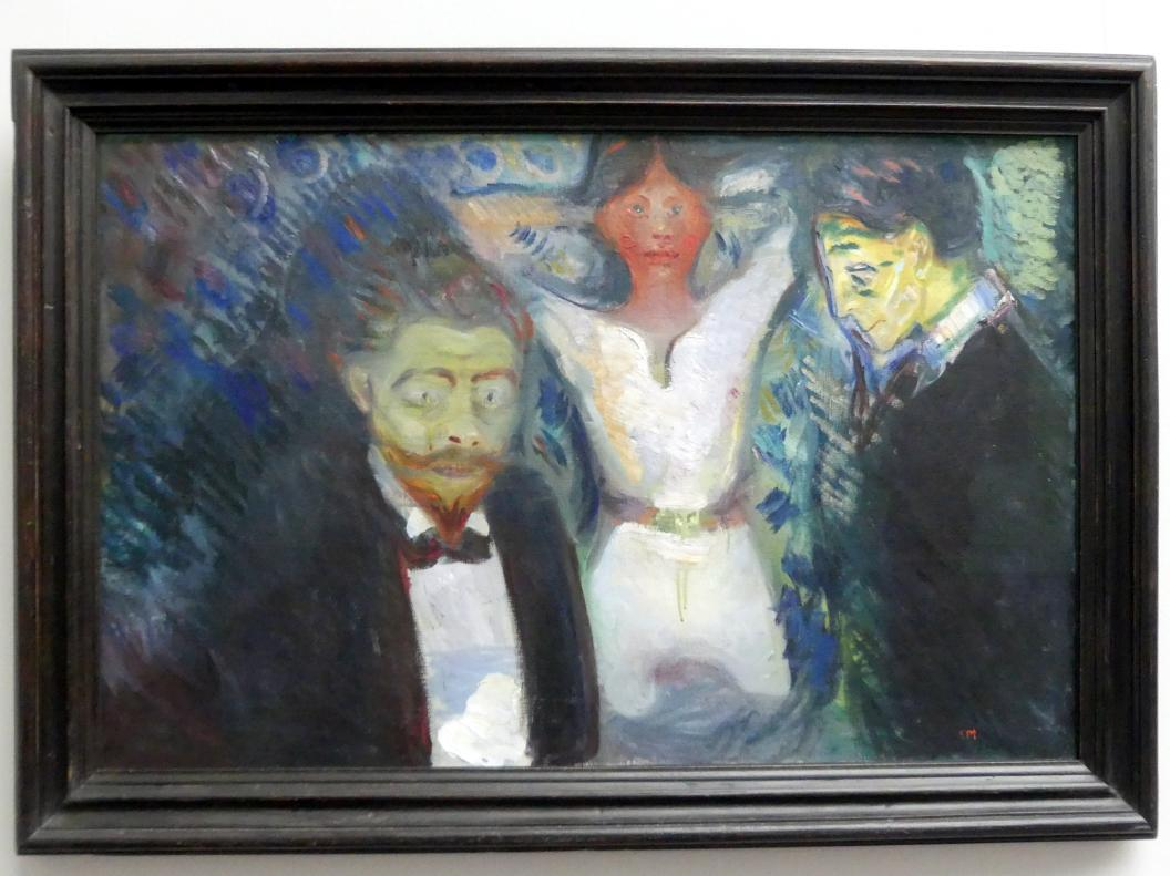 Edvard Munch: Eifersucht, 1913