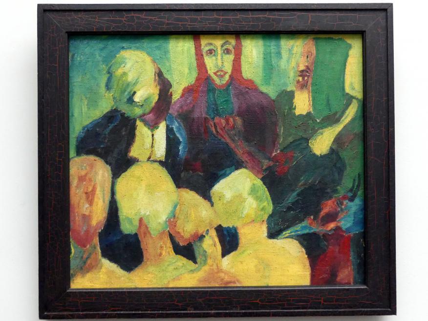Emil Nolde: Christus in der Unterwelt, 1911