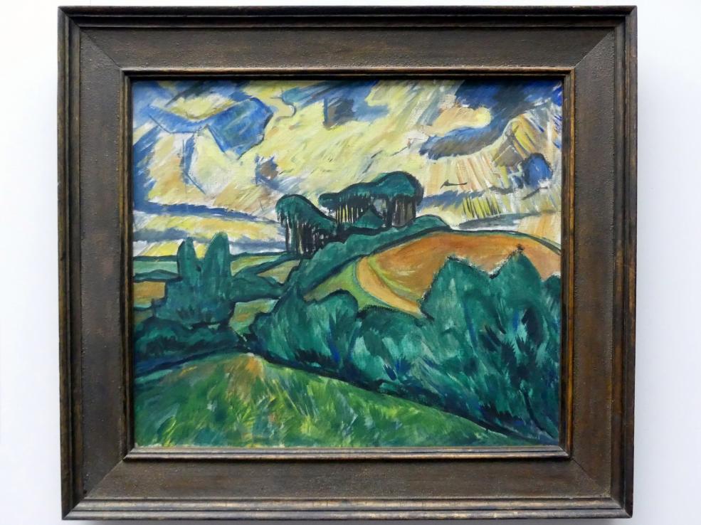 Erich Heckel: Holsteinische Landschaft, 1913