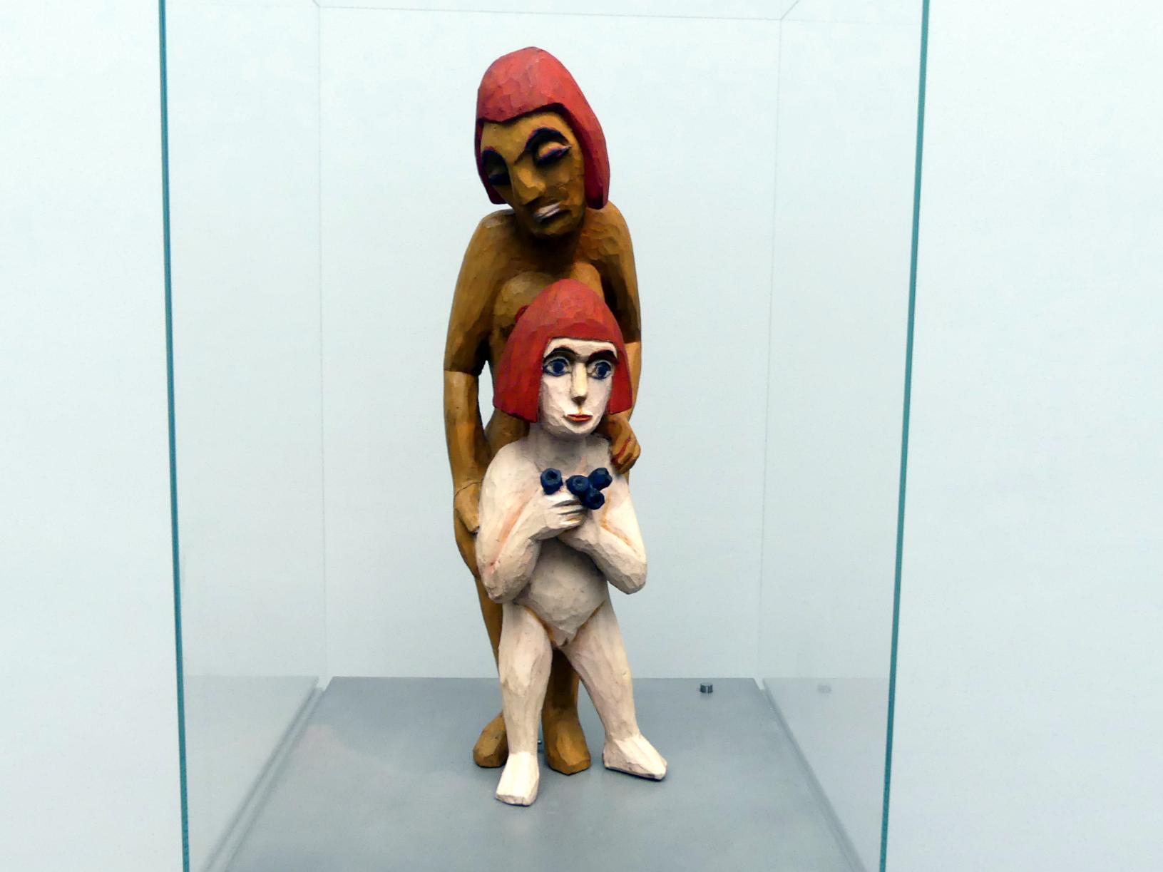 Ernst Ludwig Kirchner: Mutter und Kind; Frau und Mädchen, 1924
