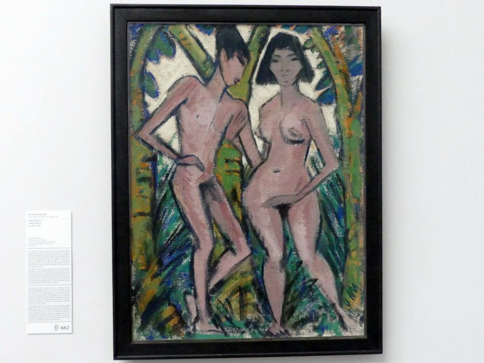 Otto Mueller: Adam und Eva, um 1913 - 1922