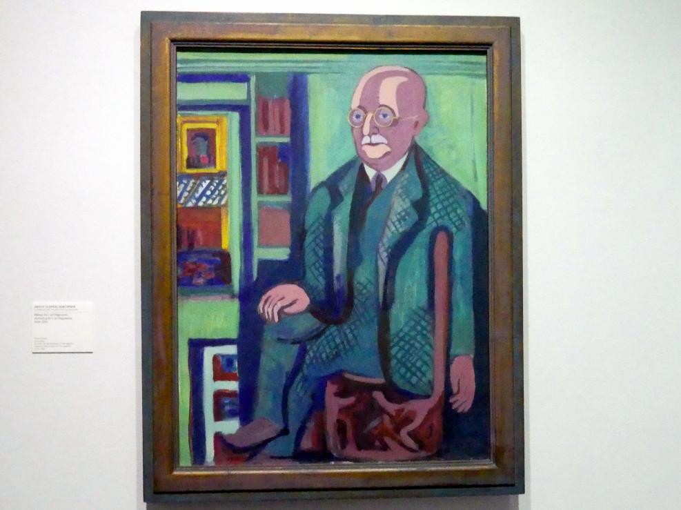 Ernst Ludwig Kirchner: Bildnis Dr. Carl Hagemann, 1928 - 1933