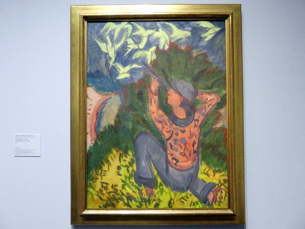 Ernst Ludwig Kirchner: Möwenjäger im Gehölz, 1912