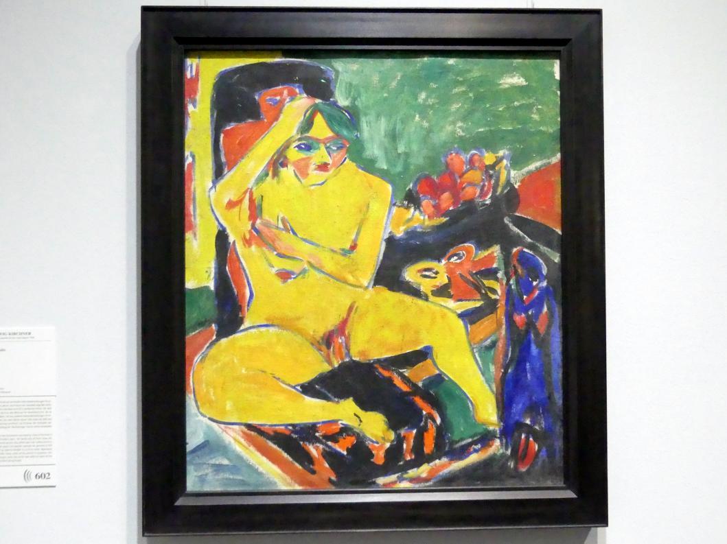 Ernst Ludwig Kirchner: Akt im Atelier, Um 1910