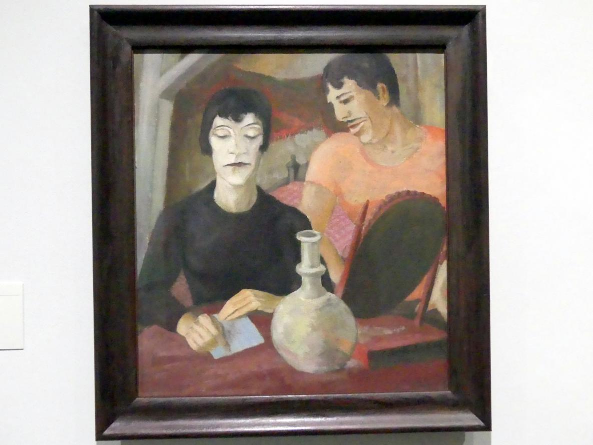 Erich Heckel: Paar, 1924
